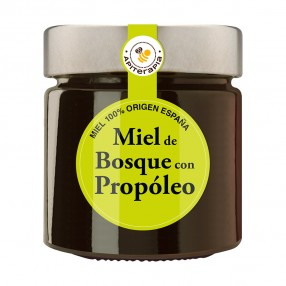 LA OBRERA DEL COLMENAR Miel de Bosque con propóleo tarro 300 grs
