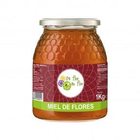 LA OBRERA DEL COLMENAR Miel de flores bote 1 kg