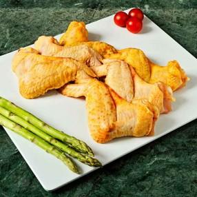 Alitas de Pollo de corral peso aproximado bandeja 700 grs