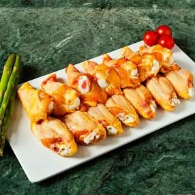 Alitas de Pollo de corral partidas y sin punta peso aproximado bandeja 600 grs