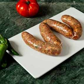 Chorizos criollos peso aproximado bandeja 500 grs