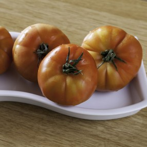 Tomate Raf Ecologico peso aproximado bandeja 500 grs