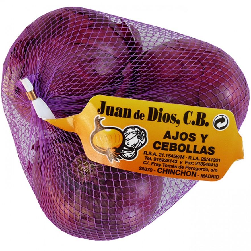 Cebolla Morada peso aproximado malla 500 grs |Cebolla Morada