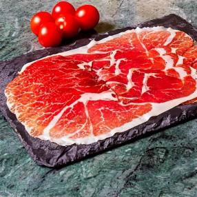 Jamon iberico de cebo en lonchas peso aproximado sobre 150 grs