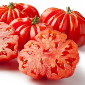 Tomate Rebelion Ecologico peso aproximado bandeja 500 grs