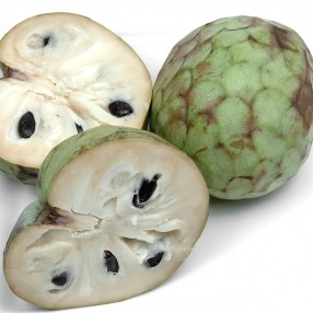 Chirimoyas peso aproximado bandeja 1 kg