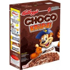 KELLOGG´S CHOCO KRISPIES Cereales paquete 375 grs