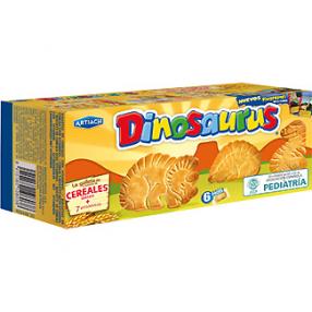 ARTIACH Dinosaurus galletas de cereales caja 185 grs