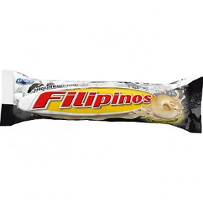 FILIPINOS con chocolate blanco paquete 100 grs