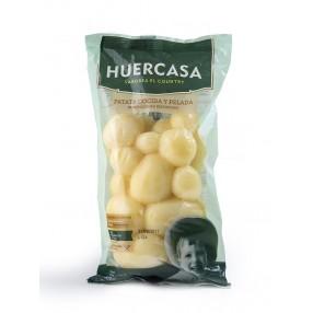 HUERCASA Patata cocida y pelada peso aproximado 450 grs