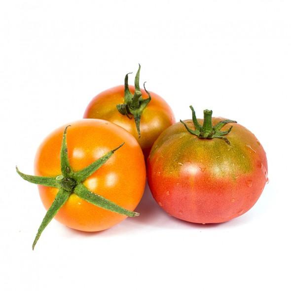 Tomate Ensalada Ecologico peso aproximado bandeja 500 grs